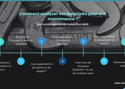 Faire une maintenance des backlinks