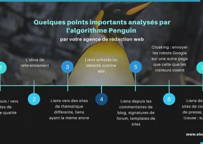 Algorithme penguin pour le netlinking
