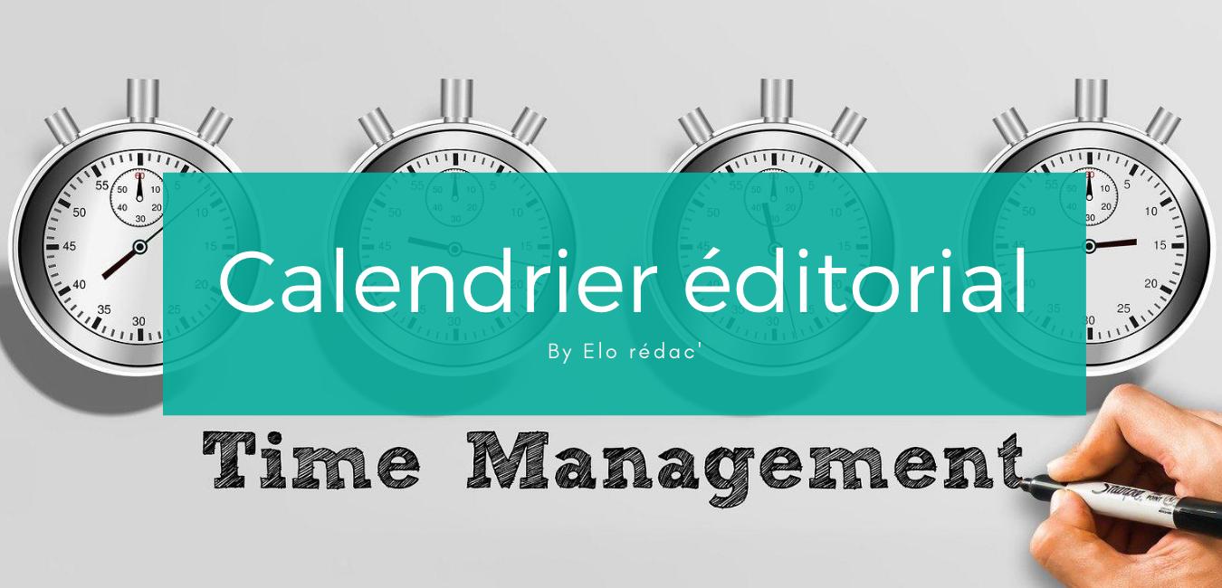 Le calendrier éditorial de blog est essentiel pour la planification