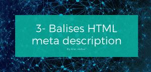 #3. Créer la balise html meta description sans aller dans le code