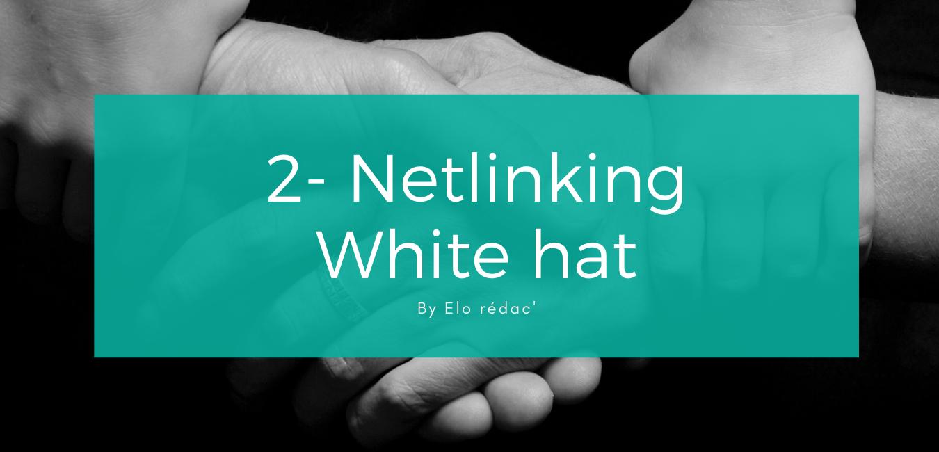 Le white hat ou stratégie de liens autorisée